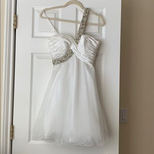 Formal white dress